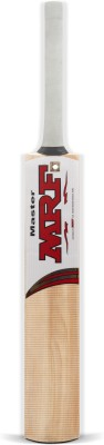 MRF Master Kashmir Willow Cricket  Bat (Long Handle, 1200-1300 g)