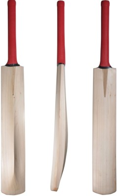 CW Plain Top Grade English Willow Cricket  Bat (Short Handle, 1000-1200 g)