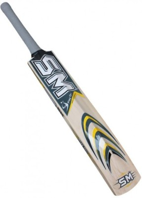 SM Black Buster Kashmir Willow Cricket  Bat (Harrow, 900 - 2000 g)