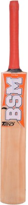 BSM Cricket Pro T20 Willow Cricket  Bat (Long Handle, 1000-1100 g)