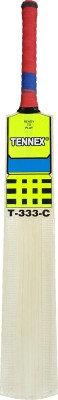 Tennex T-333 C Kashmir Willow Cricket  Bat (Short Handle, 1100 - 1250 g)