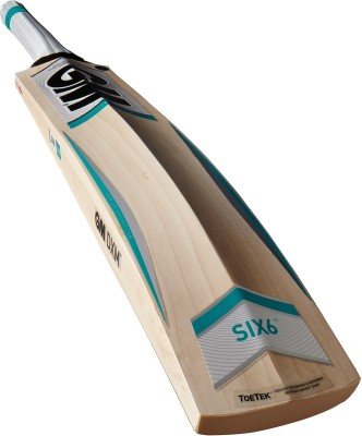 GM SIX6 Aura English Willow Cricket  Bat (Long Handle, 1150 - 1270 g)