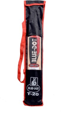 Blue Dot Leather No.1 K.W. Kashmir Willow Cricket  Bat (1, 990 g)