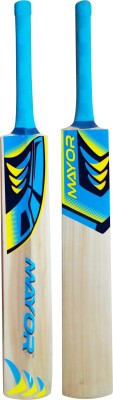 Mayor Hawk Kashmir Willow Cricket  Bat (Short Handle, 800-1200 g)