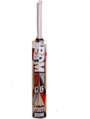 BDM G-6 English Willow Cricket  Bat (Short Handle, 1100-1200 g)