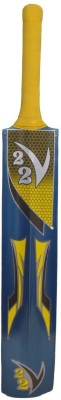 V22 Tennis Bat CBKW020 Kashmir Willow Cricket  Bat (Short Handle, 1180 - 1260 g)