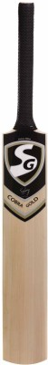 SG Cobra Gold Kashmir Willow Cricket  Bat (Short Handle, 1220 - 1300 g)