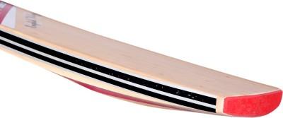 Blue Dot Premium Leather English Willow Cricket  Bat (Short Handle, 1150-1250 g)