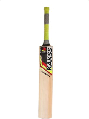 Kakss Crown I English Willow Cricket  Bat (Long Handle, 1100-1250 g)
