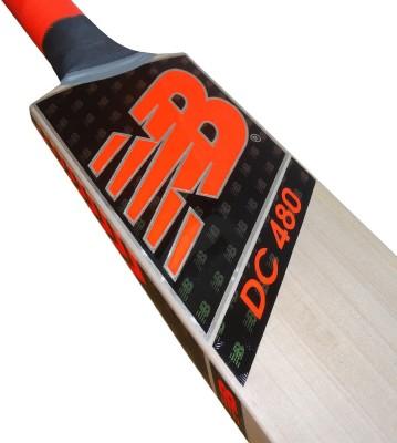 New Balance DC 480 Kashmir Willow Cricket  Bat (Long Handle, 900-1000 g)