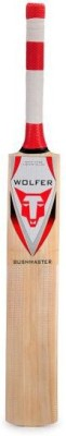 Wolfer Bushmaster Kashmir Willow Cricket  Bat (Short Handle, 1000-1300 g)