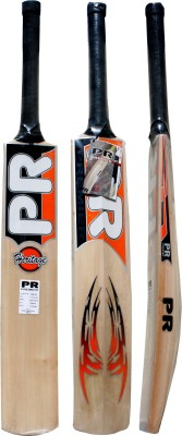 PR Heritage Kashmir Willow Cricket  Bat (Short Handle, 1150-1250 g)