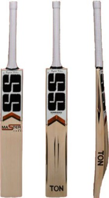 SS Master 2000 English Willow Cricket  Bat (Long Handle, 1250 g)