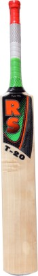 RS ROBINSON T-20 English Willow Cricket  Bat (Short Handle, 1050-1150 g)