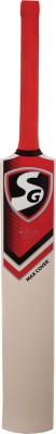 SG Max Cover Kashmir Willow Cricket  Bat (Short Handle, 1220 - 1300 g)
