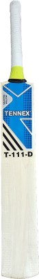 Tennex T-111 D Kashmir Willow Cricket  Bat (Short Handle, 1050 - 1250 g)