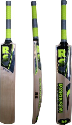 RS Robinson Warrior English Willow Cricket  Bat (Short Handle, 1050-1150 g)