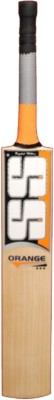 SS Orange English Willow Cricket Bat, Short Handle