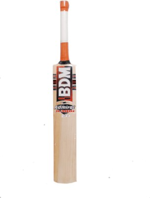 BDM Admiral Jumbo English Willow Cricket  Bat (Short Handle, 1200-1250 g)