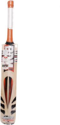 BDM Admiral Jumbo English Willow Cricket  Bat (Short Handle, 1200-1250 g)