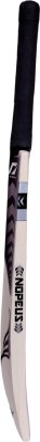 NOPEUS BLACK SILVER CAPTAIN Poplar Willow Cricket  Bat (6, 1050 g)