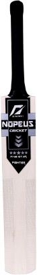 NOPEUS BLACK SILVER FIGHTER Poplar Willow Cricket  Bat (6, 1050 g)