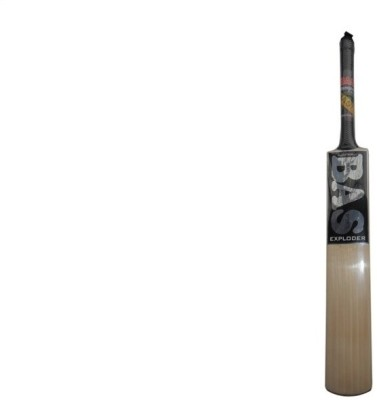 BAS Vampire Exploder English Willow Cricket  Bat (Short Handle, 1090-1250 g)