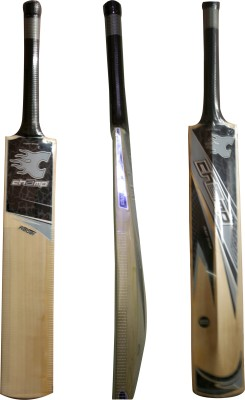 Champ Rebel English Willow Cricket  Bat (Short Handle, 1050-1150 g)