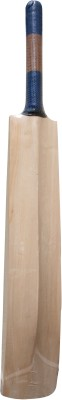 THREE WICKETS Blue Label Kashmir Willow Cricket  Bat (Short Handle, 1200-1300 g)