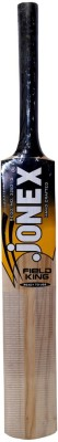 Jonex Field King Black Grip Kashmir Willow Cricket  Bat (Long Handle, 600 g)