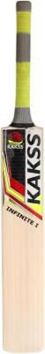 Kakss Infinite I English Willow Cricket  Bat (Long Handle, 1100-1250 g)
