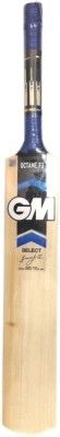 GM Octane English Willow Cricket  Bat (Long Handle, 1200 - 1400 g)