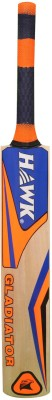 Hawk Gladiator Kashmir Willow Cricket  Bat (Harrow, 1100-1201 g)