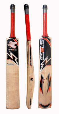 Champ IGNITE Kashmir Willow Cricket  Bat (Short Handle, 1100-1250 g)