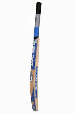 Blue Dot Master Blaster Leather Kashmir Willow Cricket  Bat (Short Handle, 1150-1250 g)