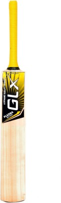 Glx PLAZMA Kashmir Willow Cricket  Bat (6, 1000 g)