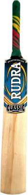 RUDRA CLASSIC 02 Kashmir Willow Cricket  Bat (34 inch, 1100 - 1300 g)