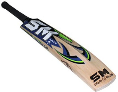 SM Pintu Top Shot English Willow Cricket  Bat (Long Handle, 900 - 2000 g)