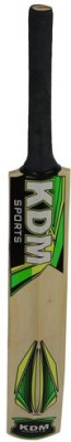 KDM Sports EW RR Poplar Willow Cricket  Bat (Short Handle, 1200 g)