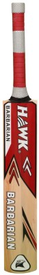 Hawk Barbarian Kashmir Willow Cricket  Bat (Harrow, 1100-1202 g)