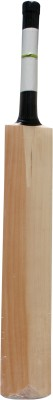 THREE WICKETS Black Label Kashmir Willow Cricket  Bat (Short Handle, 1150-1250 g)