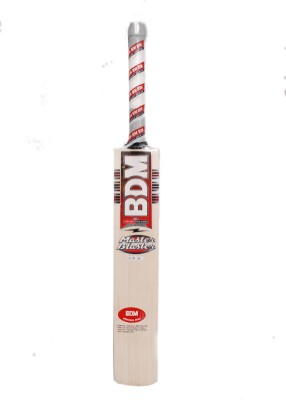 BDM Master Blaster English Willow Cricket  Bat (Harrow, 1100-1300 g)