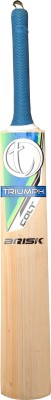 Triumph Brisk Kashmir Willow Cricket  Bat (4, 800-1000 g)