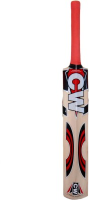 CW Millennium Kashmir Willow Cricket  Bat (Short Handle, 1050-1250 g)