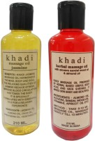 Khadi Herbal Massage Oil Combo (420 Ml)