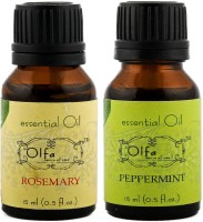 Olfa Rosemary Essential Oil & Peppermint Essential Oil Combo (Pack Of 2) 15ml+15ml (30 Ml)