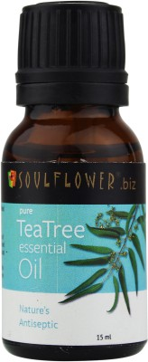 Buy Soulflower Tea Tree Essential Oil: Bath Essential Oil
