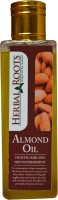 Herbal Roots Pure Almond Oil - Health, Hair And Skin Nourishment (100 Ml)