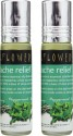 Soulflower Aromatherapy Headache Relief Roll On - Pack Of 2 - 8 Ml