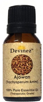Devinez 50 2001, Ajowan Essential Oil, 100% Pure, Natural & Undiluted